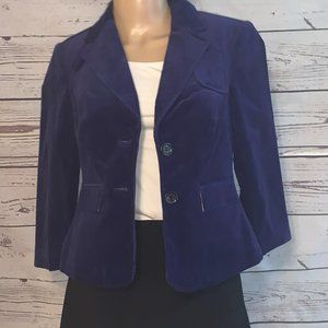 NWOT THE LIMITED Thick Navy Blue Blazer XS